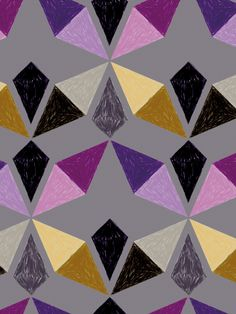 pattern by Shades of Black // Mlle Eugé