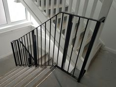 New installation of our staircase handrails in Wimbledon apartments. Staircase Handrail, Railings, Stairs, Wimbledon, Apartments, Glass, Home Decor, Drinkware, Stair Handrail
