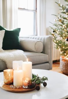 Come tour my Nordic Christmas home. Fresh greens, candles and texutre galore: It's dressed to the nines for the Holiday season. Come tour my Nordic Christmas home. Fresh greens, candles and texutre galore: It's dressed to the nines for the Holiday season. Quirky Home Decor, Stylish Home Decor, Easy Home Decor, Nordic Christmas, Christmas Home, Christmas Island, Christmas 2019, Simple Christmas, Christmas Lights