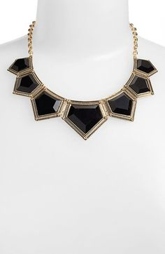 BP. Geometric Statement Necklace available at #Nordstrom