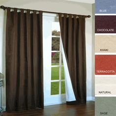 Common Wealth Home Fashions Weathermate Thermalogic Insulated Cotton Panels, 80 by chocolate *** Details can be found by clicking on the image. (This is an affiliate link) Tab Top Curtains, Thermal Curtains, Drapes Curtains, Curtain Panels, Blackout Curtains, Silk Drapes, Insulated Drapes, Custom Drapes, House Windows
