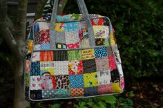Megan's patchwork Weekender. love.     Lucy & Norman