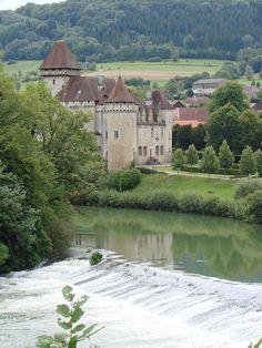 Château de Clairon, Doubs