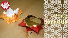Deux origami en un aujourd'hui puisque cette boîte traditionnelle pourra se plier en version coupe, avec une ouverture évasée, ou bien avec une ouverture plus étroite, dans le style d'une boîte.  Pour encore plus de vidéos, photos et tutoriels, venez nous visiter sur http://www.senbazuru.fr
