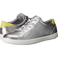 4bfeb663672774 ECCO Aimee Sport Tie (Alusilver Sulphur) Women s Lace up casual Shoes ( 105
