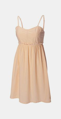 College Gold Seventh Inning Strapless Dress
