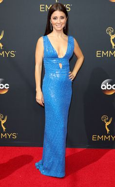 Shiri Appleby from 2016 Emmys Red Carpet Arrivals   E! Online