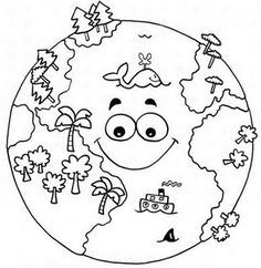 Top 20 Free Printable Earth Day Coloring Pages Online – Art World 20 Earth Day Coloring Pages, Space Coloring Pages, Coloring Pages To Print, Coloring Books, Earth Day Projects, Earth Day Crafts, Art Projects, Teaching Packs, Earth Day Activities