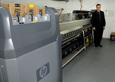 First HP Designjet LX850 in at Action Signs