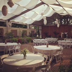The Hilton Garden Inn Hamilton Nj Has The Perfect Setup For An Outside Event Under This
