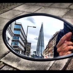 Shard-Love #Shard #SE1 #instahub #instamood #iphonography #igers #webstagram #city #London #instagramyourcity #reflections #beautiful #vespa - @fundamentals- #webstagram
