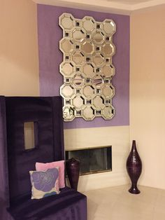 The Crawford Mirror is one of our most popular pieces. It is beautiful everywhere it is placed. Baroque Mirror, Metal Mirror, Modern Floor Mirrors, Leaner Mirror, Living Room Mirrors, Light Reflection, Round Mirrors, Tile Patterns, Home Furnishings