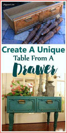 22 Ideas for repurposed furniture diy ideas drawers Refurbished Furniture, Repurposed Furniture, Furniture Makeover, Painted Furniture, Stool Makeover, Vintage Furniture, Rustic Furniture, Diy Furniture Repurpose, Dresser Repurposed