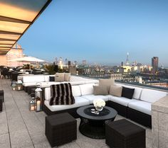 Reiss Guide : @barchick  share their best rooftop bars in London - Radio Rooftop London