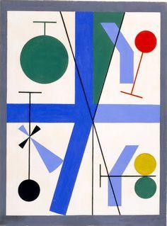Sophie Taeuber - composition dans un cercle 1937