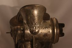 Antique Meat Grinder Kitchen Tool by VintagebyViola on Etsy, $50.00