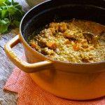 Easy Lentil, Sweet Potato & Coconut Curry