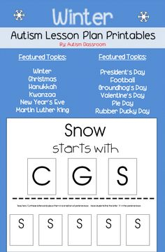 Autism Lesson Plans On Pinterest Special Education File