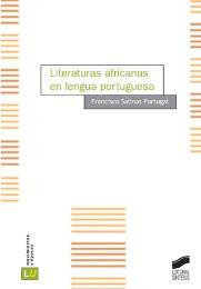 Literaturas africanas en lengua portuguesa / Francisco Salinas Portugal