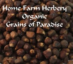 Grains of Paradise, Order 3 get 1 FRE..., Food items in Hart County