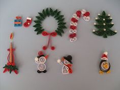 Christmas quilling ideas