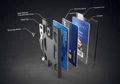 GOVO Badge Holder & Wallet by Haishan Deng at Coroflot.com