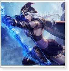 League of Legends LOL Ashe Cosplay Costumes - CosplayMagic.Com