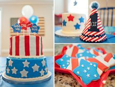 fourth of july birthday greetings | 4th of July Birthday Party 4