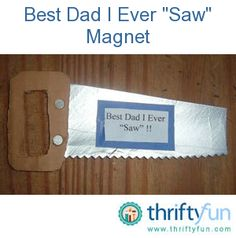 This is an easy recycled craft for Father's Day that kids can make for their dad out of an empty Pringles container.  Since you are using hot glue, an adult needs to help.