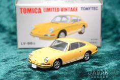 TOMICA-LIMITED-VINTAGE-LV-86b-1-64-PORSCHE-911S-1968-Yellow