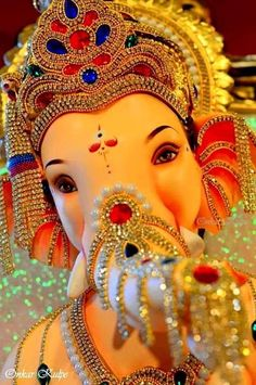 Make this Ganesha Chathurthi 2020 special with rituals and ceremonies. Lord Ganesha is a powerful god that removes Hurdles, grants Wealth, Knowledge & Wisdom. Jai Ganesh, Ganesh Lord, Ganesh Idol, Shree Ganesh, Lord Shiva, Ganesha Art, Lord Durga, Ganesha Drawing, Krishna Hindu
