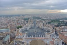 Top of St. Peter's Basilica in the Vatican last month on an overcast day #travel #photography #nature #photo #vacation #photooftheday #adventure #landscape
