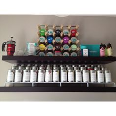 """(by you): """"My DAVIDsTEA Collection (first visit 11/23/11) this photo is 05/23/12"""""""