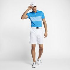 Nike Breathe Color Block Men's Standard Fit Golf Polo