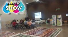 ¡Ya iniciamos! #GraphicShowAvance #Culiacán Talleres, exposiciones y muchas sorpresas. ¡Bienvenidos