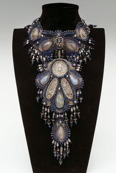 Pandora (front). Piece measures 15.75 x 2.375 x 13.8 in. (40 x 6 x 35 cm)    Svetlana Sametis    Riga, Latvia    orubis@inbox.lv    orubis.ucoz.lv    http://cs.jewelrymakingmagazines.com/BAJCS/media/p/89133.aspx