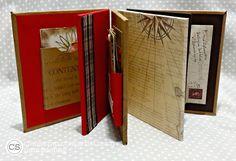 APeeling Paper Crafts: #ClubScrap Literature Blog Hop #boardbook #album