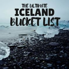 Iceland Bucket List & Iceland Blog full of off the beaten path alternatives in Iceland.