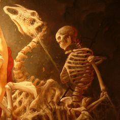 Roberto Ferri : detail -. I CAVALIERI DELL'APOCALISSE (The Horsemen of the Apocalypse). 2011.