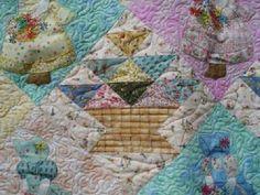 Prairie Cottage Corner - Home of Sunbonnet Sue and Friends: Flower Basket Sue Quilt Pattern