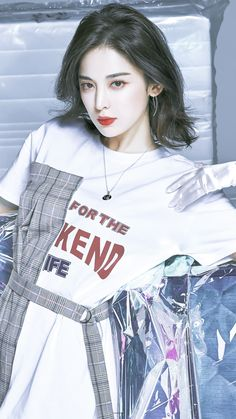 Guan Xiao Tong, Past Present Future, Chinese Actress, Ulzzang Boy, Trendy Outfits, Cute Girls, Adidas Jacket, Gorgeous Girl, Beautiful