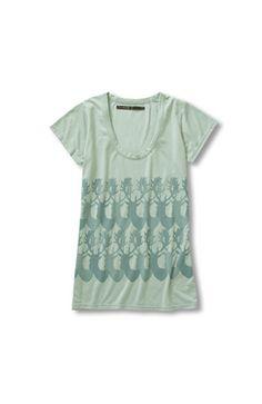 リス クロース グラフィックプリントTシャツ:4