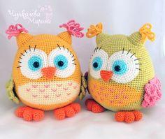 magic workshop lusi gestricktes spielzeug vk - The world's most private search engine Lion Crochet, Owl Crochet Patterns, Crochet Birds, Owl Patterns, Crochet Patterns Amigurumi, Crochet For Kids, Crochet Animals, Crochet Crafts, Crochet Yarn