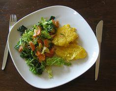 Winterliche Gemüsepfanne mit Polenta - Vegetables with polenta, winterly