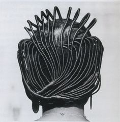 Photographer Documents Afro Hair Trends In Nigeria During The And The - Art-Sheep African Threading, Hair Threading, African Hairstyles, Afro Hairstyles, Black Hairstyles, Hairstyles Pictures, Unique Hairstyles, Bandana Hairstyles, Style Hairstyle