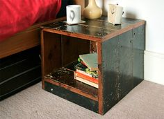 Bedside Table - Tom Robinson Handmade Furniture from Brighton, Sussex