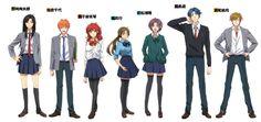 Genderbent GSN characters