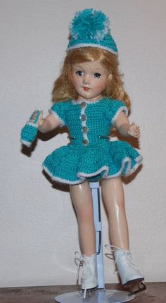 Most Mary Hoyer dolls need a skating costume!!