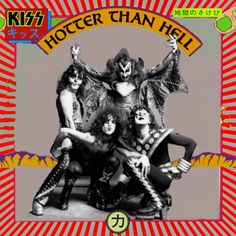 Japan import version of Hotter Than Hell. KISS has always had a huge following in Japan.