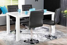 CAVA-ruokailuryhmä (CAVA-pöytä 140x80cm+4 PIANO-tuolia musta)